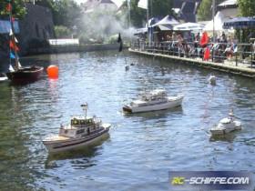 AMC-Paderborn - Fischerfest 2012 - Schaufahren in Bad Lippspringe an der Lipequelle