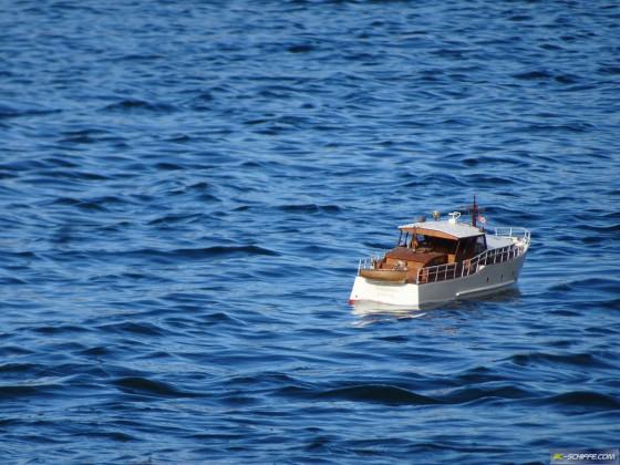 Motoryacht Albatros - ein Oldtimer aus dern 1960ern