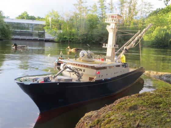 TREVIGNON II im Hafen