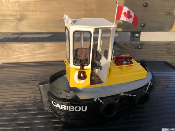 Dozer Boat Caribou