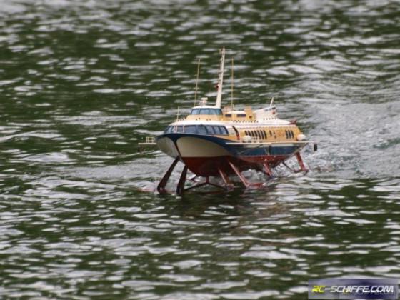 Komet Russisches Tragflächenboot