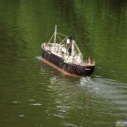Alter Frachter um 1900