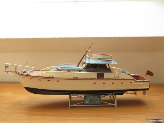 65 ft. Wheeler Promenade Deck Sport Fisherman   1:48