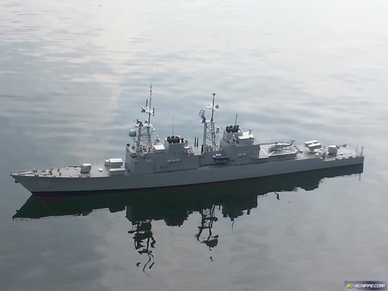 U -Jagd - Zerstörer Spruance - Klasse USS Ingersoll DD990