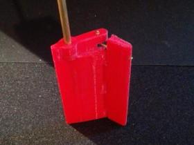 Becker Ruder 3D gedruckt
