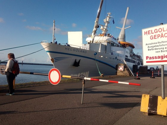 MS Helgoland in Cuxhaven