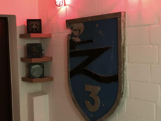 Bugwappen  Z3 mit Gangbeleuchtung und Anzeigen Z-Hessen