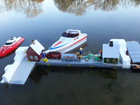 Hafen mini Hafen am Ludwigsee